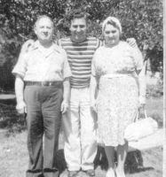 Abe, Harry & Rose Horwitz about 1942
