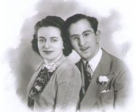 Milton Horwitz and Ruth Bloom on their Wedding Day.