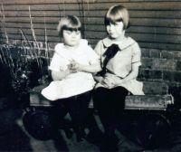 Margaret Edna and Mary Lois Peck