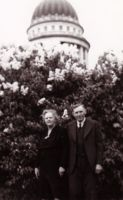 Lydia and Bill on Capitol grounds