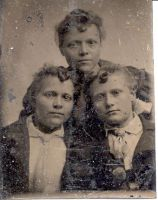 Lydia Adamson Woodland and her sisters